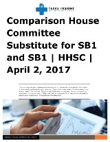House and Senate Comparison: HCSSB1 and SB1 - HHSC