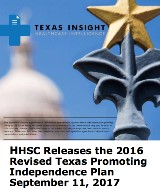 HHSC Releases the 2016 Revised Texas Promoting Independence Plan