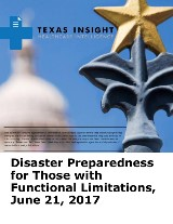 Disaster Preparedness for Those with Functional Limitations