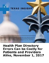 Health Plan Directory Errors Can be Costly for Patients and Providers Alike