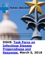 DSHS: Task Force on Infectious Disease Preparedness and Response