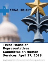 Texas House of Representatives: Committee on Human Services