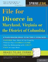 File for Divorce in Maryland, Virginia or the District of Columbia