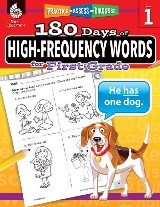 180 Days of High-Frequency Words for First Grade