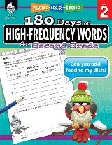 180 Days of High-Frequency Words for Second Grade