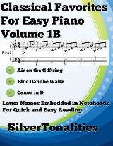 Classical Favorites for Easy Piano Volume 1 B