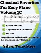 Classical Favorites for Easy Piano Volume 1 C