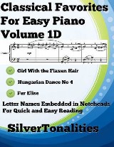 Classical Favorites for Easy Piano Volume 1 D