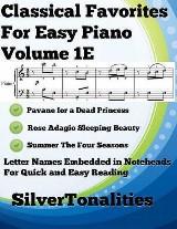 Classical Favorites for Easy Piano Volume 1 E