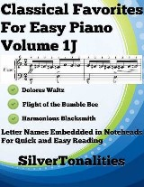 Classical Favorites for Easy Piano Volume 1 J