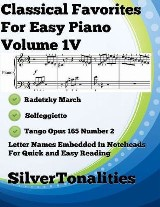 Classical Favorites for Easy Piano Volume 1 V