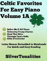 Celtic Favorites for Easy Piano Volume 1 A