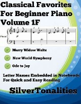 Classical Favorites for Beginner Piano Volume 1 F