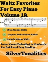 Waltz Favorites for Easy Piano Volume 1 A