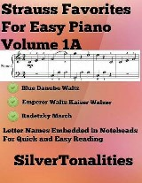 Strauss Favorites for Easy Piano Volume 1 A
