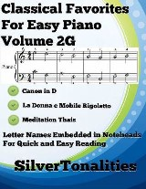 Classical Favorites for Easy Piano Volume 2 G
