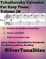 Tchaikovsky Favorites for Easy Piano Volume 1 B