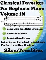Classical Favorites for Beginner Piano Volume 1 N