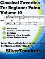 Classical Favorites for Beginner Piano Volume 1 O