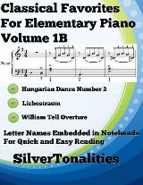 Classical Favorites for Elementary Piano Volume 1 B