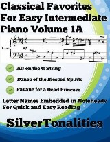 Classical Favorites for Easy Intermediate Piano Volume 1 A