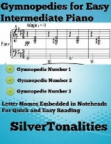 Gymnopedies for Easy Intermediate Piano