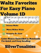 Waltz Favorites for Easy Piano Volume 1 D