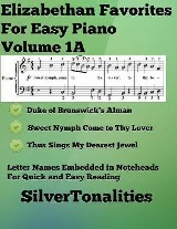 Elizabethan Favorites for Easy Piano Volume 1 A
