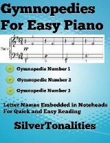 Gymnopedies for Easiest Piano