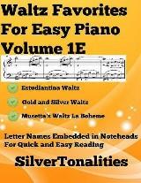 Waltz Favorites for Easy Piano Volume 1 E