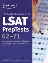 Kaplan Companion to LSAT PrepTests 62-71