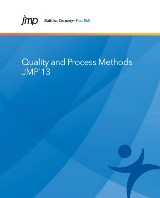 JMP 13 Quality and Process Methods