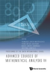 Advanced Courses of Mathematical Analysis VI