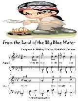 From the Land of the Sky Blue Water - Easiest Piano Sheet Music