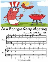 At a Georgia Camp Meeting - Easiest Piano Sheet Music Junior Edition