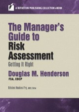The Manager's Guide to Risk Assessment