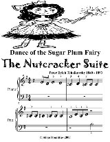 Dance of the Sugar Plum Fairy the Nutcracker Suite - Beginner Piano Sheet Music Tadpole Edition