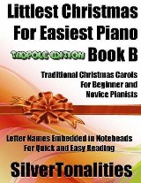 Littlest Christmas for Easiest Piano Book B Tadpole Edition