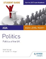 AQA AS/A-level Politics Student Guide 2: Politics of the UK
