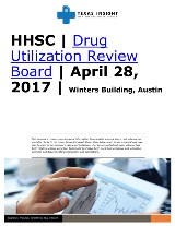 HHSC: Drug Utilization Review Board
