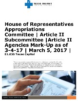 HAC: Article II Mark Up as of 3-4-17