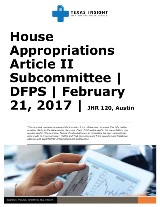 HAC Article II Subcommittee: DFPS