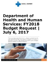 Department of Health and Human Services: FY2018 Budget Request