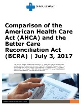 Comparison of the American Health Care Act (AHCA) and the Better Care Reconciliation Act (BCRA)