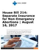 House Bill 214: Separate Insurance for Non-Emergency Abortions