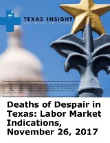Deaths of Despair in Texas: Labor Market Indications
