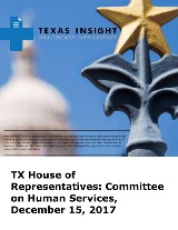 TX House of Representatives: Committee on Human Services