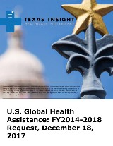U.S. Global Health Assistance: FY2014-2018 Request