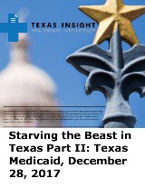 Starving the Beast in Texas Part II: Texas Medicaid