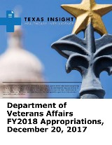 Department of Veterans Affairs FY2018 Appropriations